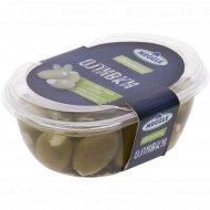 Оливки со сливочным сыром, 210г.