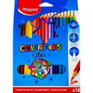 Карандаши «Color Peps» 18 цветов.