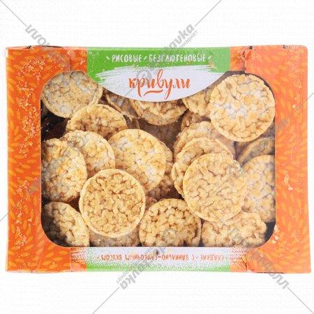 Хлебцы рисовые «Кривули» ванильно-сливочные, 74 г.