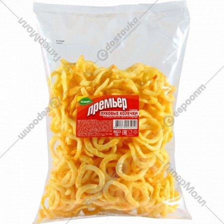 Луковые колечки «Премьер» со вкусом острого перца,150г.