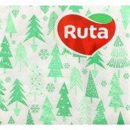 Салфетки бумажные «Ruta» елочный микс, 24х24 см, 40 листов.