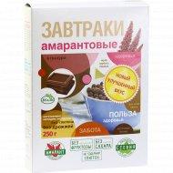 Завтраки амарантовые «Di&Di» в глазури, 250 г.