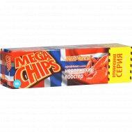 Чипсы «Mega Chips» со вкусом норвежского лобстера, 100 г.