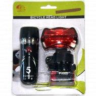 Комплект фонарей «Jingyi» для велосипеда.