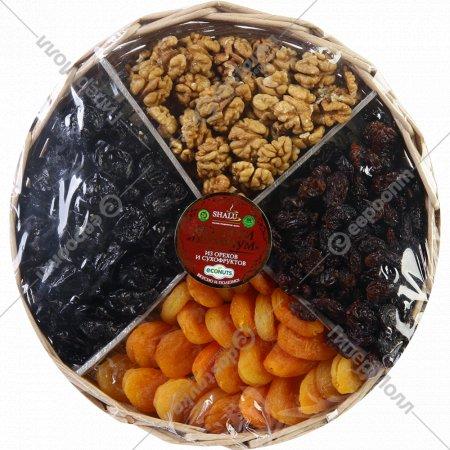 Ассорти «Премиум» из орехов и сухофруктов, 650 г.