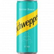 Напиток «Schweppes» биттер лемон, 0.33 л.