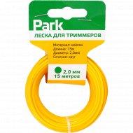 Леска для триммеров «Park» 2.0 мм, 15 м.