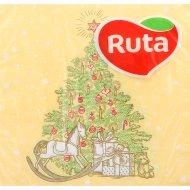 Салфетки бумажные «Ruta» рождественская мечта, 33х33 см, 20 листов.