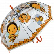 Зонт-трость детский «Пчелка».