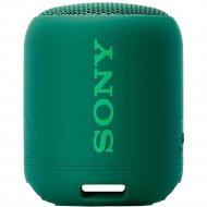 Портативная колонка «Sony» зеленая SRSXB12G