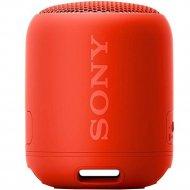 Портативная колонка «Sony» красная SRSXB12R