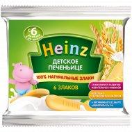 Детское печеньице «Heinz» 6 злаков, 60 г