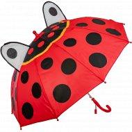 Зонт-трость детский «Божья коровка».