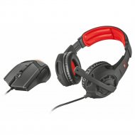 Наушники + мышь «Trust» GXT 784 GAME Headset & Mouse 21472.