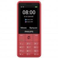 Сотовый телефон «Philips» Xenium E169, красный.