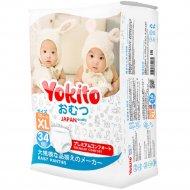 Трусики-подгузники «Yokito» размер XL, 13-17 кг, 34 шт.