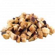 Баклажаны, резанные кубиком, 1 кг, фасовка 0.9-1 кг