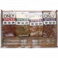 Набор приправ «Only spices» 8 шт, 650 г.