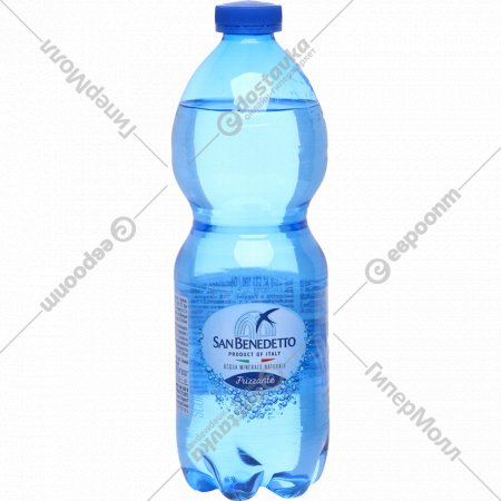 Вода минеральная, газированная «San Benedetto» 0.5 л.