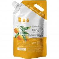 Крем-мыло жидкое «Orange» для рук и тела антибактериальное, 1000 г.