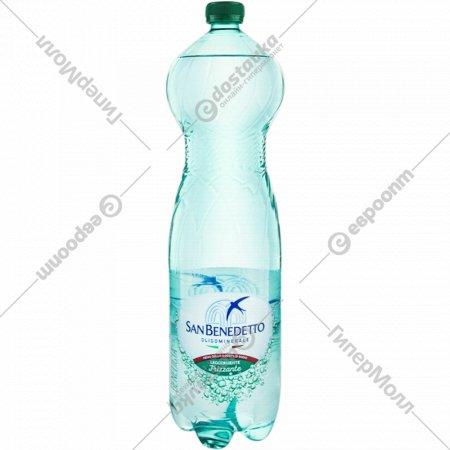 Вода минеральная, слабогазированная «San Benedetto» 1.5 л.