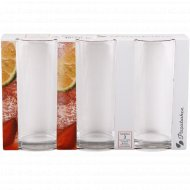 Комплект из 3-х стаканов «Стамбул» для коктейля, 290 мл.