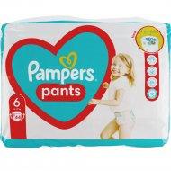 Трусики-подгузники «Pampers Pants Extra Large» размер 6, 15+кг, 44 шт.