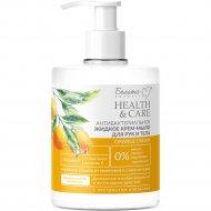 Крем-мыло жидкое «Orange» для рук и тела антибактериальное, 500 г.