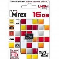 Карта памяти «Mirex» 13612-MCSUHS16