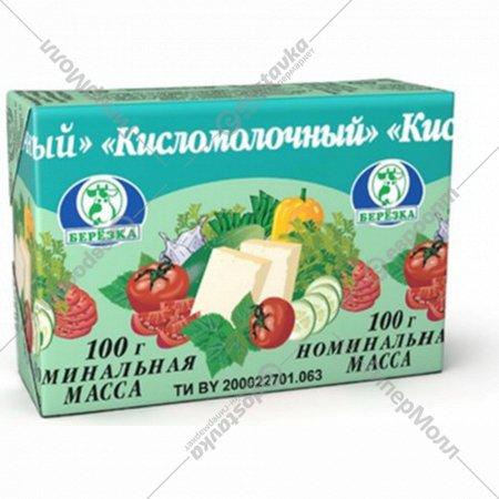 Сыр плавленый «Кисломолочный» 45%, 100 г.
