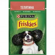 Корм для собак «Friskies» телятина, 85 г.