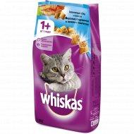 Корм сухой для взрослых кошек «Whiskas» с лососем, 1.9 кг