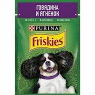 Корм для собак «Friskies» говядина и ягненок, 85 г.