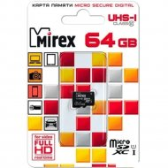 Карта памяти «Mirex» 13612-MC10SD64