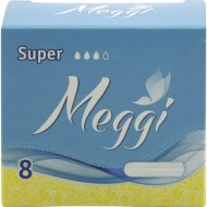 Тампоны «Meggi» супер 8 шт.