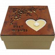 Коробка подарочная из картона, 10-1605-2.
