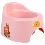 Горшок детский туалетный с крышкой.