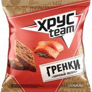 Гренки «Хрусteam» со вкусом копченый лосось, 105 г.