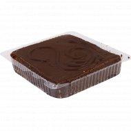 Торт «Птичье молоко в глазури» 1 кг., фасовка 0.5-0.75 кг