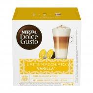 Кофе жареный молотый «Nescafe» Dolce Gusto, latte macchiato vanilla, 188.4 г.