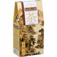Чай черный листовой «Basilur» китайский пуэр, 100 г.