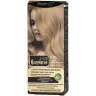 Краска для волос «HAIR Happiness» 9.32, светлый бежевый блондин.