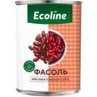 Фасоль красная «Эколайн» в томатном соусе, 425 г.