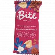 Батончик орехово-фруктовый «Take a Bite» орехово-гречишный пай, 35 г.