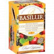 Чайный напиток «Basilur» ассорти, 20 пакетиков.