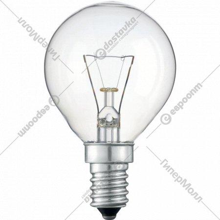 Лампа накаливания «Шар» 40W E14.