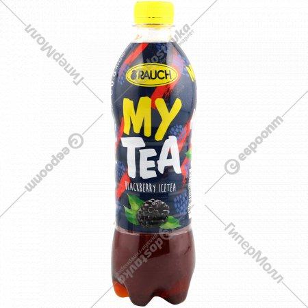 Напиток безалкогольный «Rauch» холодный чай, ежевичный, 0.5 л.