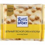 Шоколад «Ritter Sport» лесной орех и хлопья, 100 г.