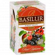 Чайный напиток «Basilur» лесные фрукты, 25 пакетиков.