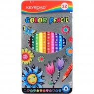Карандаши «Keyroad» 971450KR, 12 цветов.